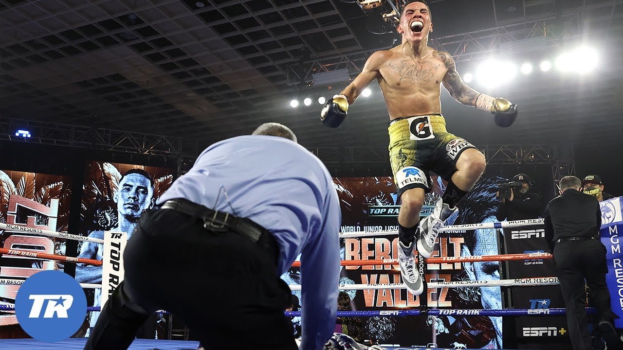 <label><a href='https://www.mvpboxing.com/videos/all-access/Oscar-Valdez-with-the-Knockout-of-the-Year'  class='headline_anchor news_link'>Oscar Valdez with the Knockout of the Year Over Miguel Berchelt, Wins Belt</label>
