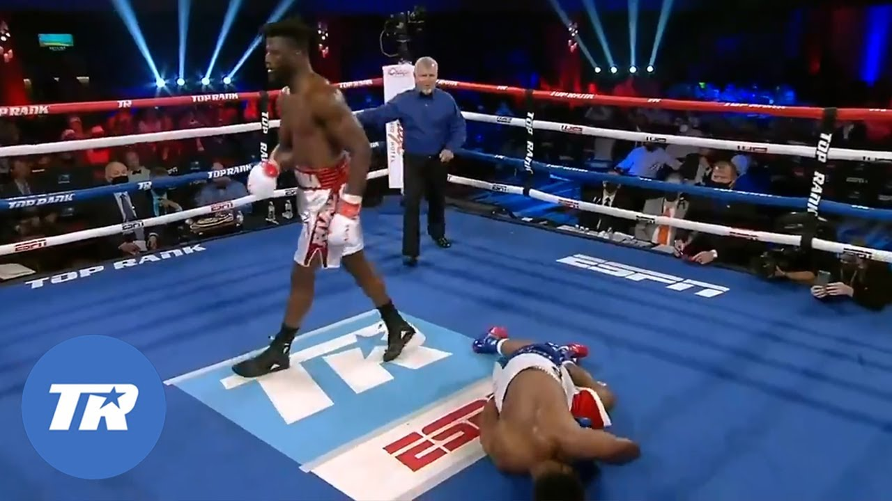 <label><a href='https://www.mvpboxing.com/videos/all-access/Efe-Ajaba-Shuts-Brian-Howards-Lights-Out-with-Devastating-Knockout'  class='headline_anchor news_link'>Efe Ajaba Shuts Brian Howard's Lights Out with Devastating Knockout | FIGHT HIGHLIGHTS</label>