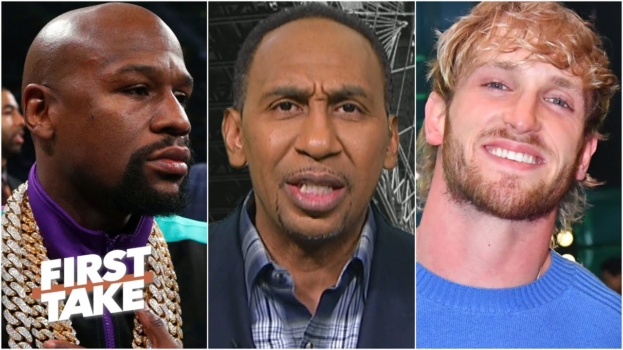 <label><a href='https://www.mvpboxing.com/videos/all-access/Floyd-Mayweather-vs-Logan-Paul-is-bad-for-boxing'  class='headline_anchor news_link'>Floyd Mayweather vs. Logan Paul is bad for boxing - Stephen A. | First Take</label>