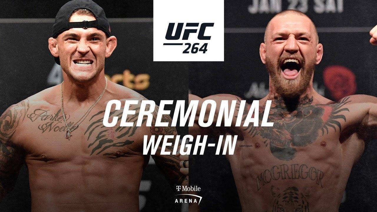 <label itemprop='name'><a href='https://www.mvpboxing.com/videos/all-access/UFC-264-Ceremonial-Weigh-in-Poirier-vs-McGregor-3'  class='headline_anchor news_link' itemprop='url'>UFC 264: Ceremonial Weigh-in | Poirier vs McGregor 3</label>