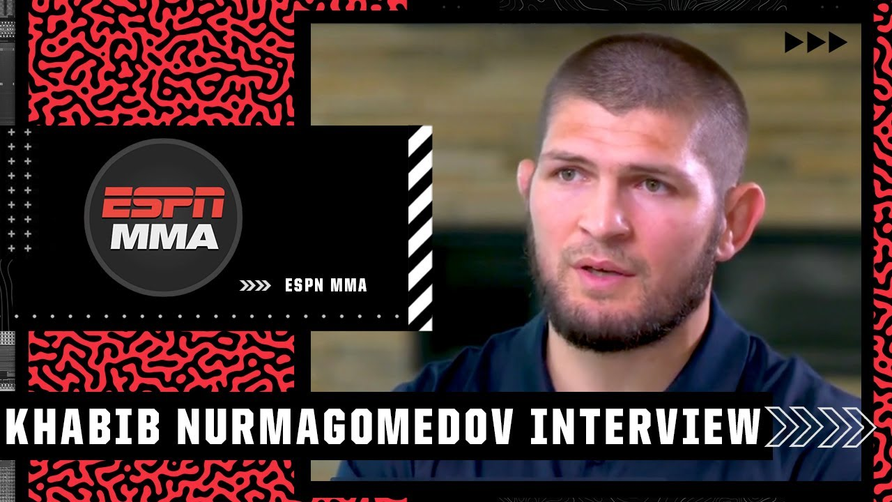 <label itemprop='name'><a href='https://www.mvpboxing.com/videos/all-access/Khabib-on-Conor-McGregor-vs-Dustin-Poirier-3'  class='headline_anchor news_link' itemprop='url'>Khabib on Conor McGregor vs. Dustin Poirier 3, retiring at the top and coaching | MMA on ESPN</label>