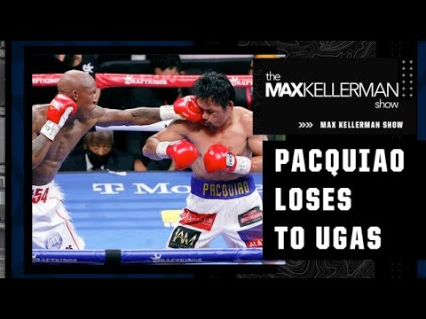 <label itemprop='name'><a href='https://www.mvpboxing.com/videos/all-access/Max-reacts-to-Yordenis-Ugas-defeating-Manny-Pacquiao'  class='headline_anchor news_link' itemprop='url'>Max reacts to Yordenis Ugas defeating Manny Pacquiao by unanimous decision | The Max Kellerman Show</label>