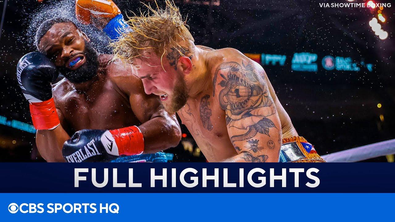 <label itemprop='name'><a href='https://www.mvpboxing.com/videos/all-access/Jake-Paul-vs-Tyron-Woodley-Paul-wins-via-split-decision'  class='headline_anchor news_link' itemprop='url'>Jake Paul vs Tyron Woodley: Paul wins via split decision [HIGHLIGHTS & Reaction] | CBS Sports HQ</label>